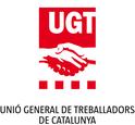 Logo UGT de Catalunya amb text
